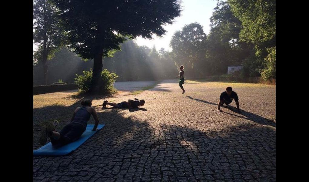 Gym image-Athletik Training - Volkspark Friedrichshain