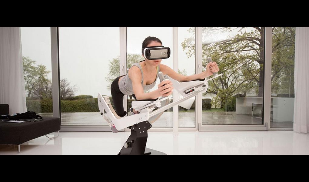 Gym image-ICAROS virtual reality core Workout