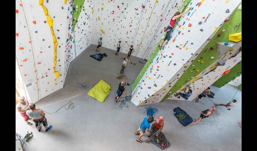 Studio Foto-DAV Kletter- und Boulderzentrum
