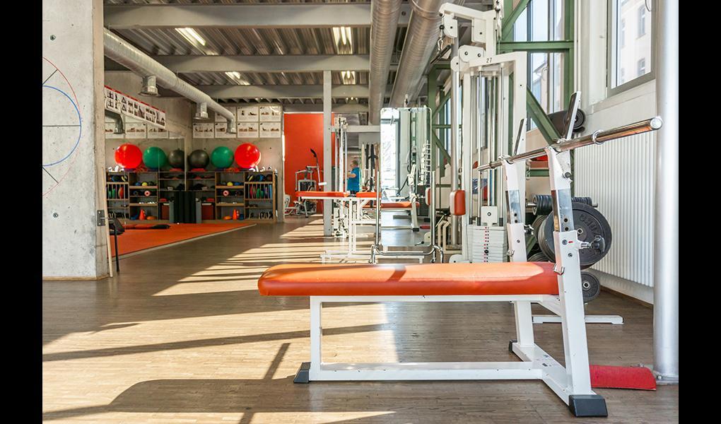 Gym image-radius