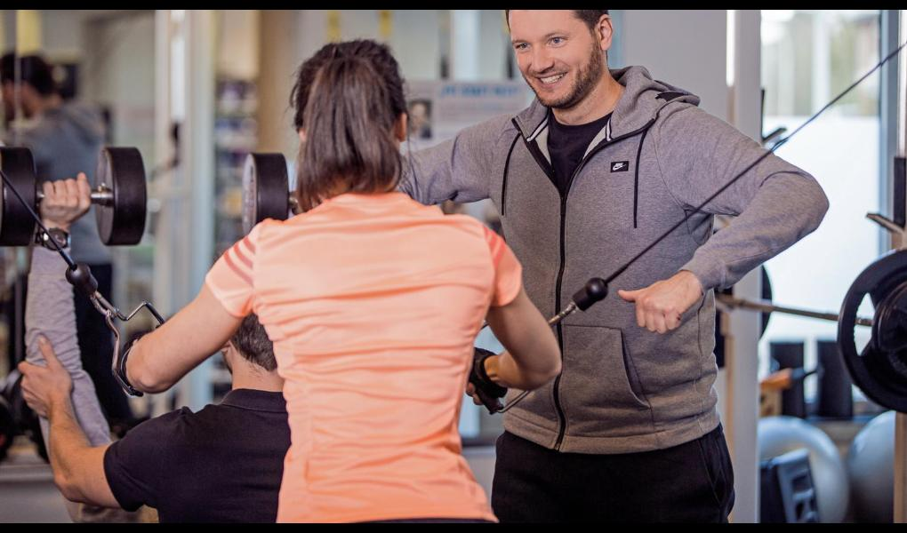 Gym image-kraftvoll