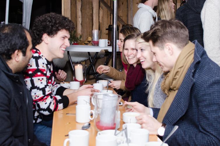 Hohoho - Having fun @eGym Christmas Rooftop Parties
