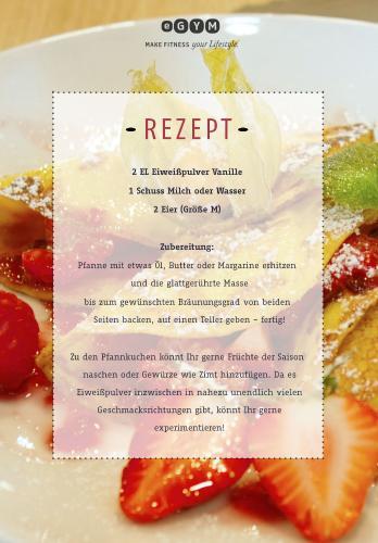 Rezept für Eiweißpfannkuchen