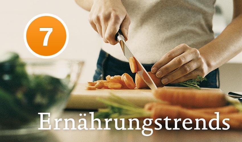 7 aktuelle Ernährungstrends: Ein kurzer Überblick